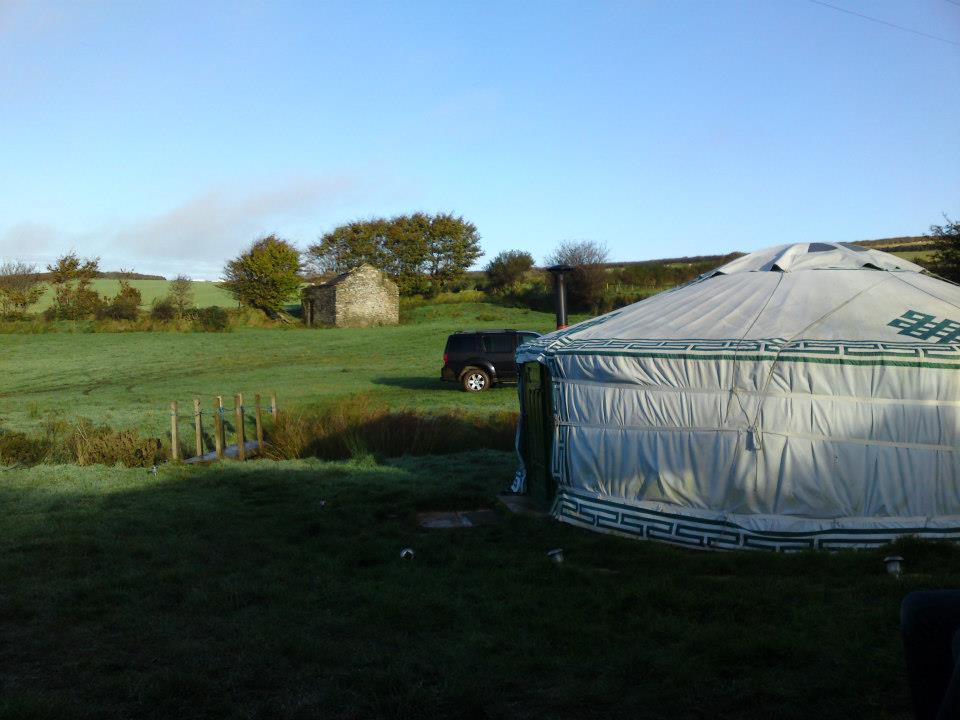 Birthday Yurt; Where it all began!