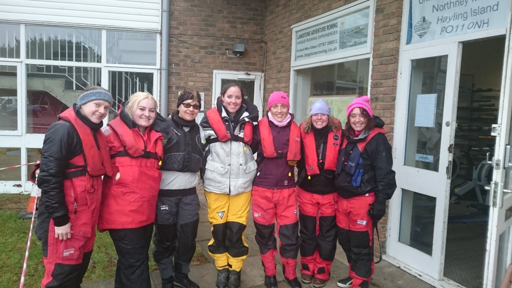 Our crew (LtoR): Sam (me), Hayley, Magda, Kate, Tasha, Heather & Ruth. [& slightly off the picture Claire!]