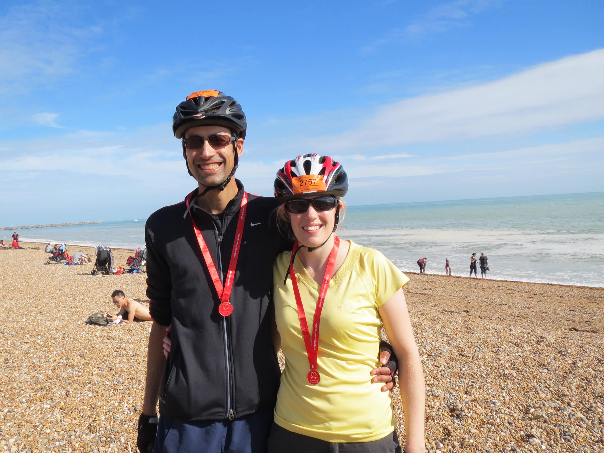 Helen conquers London to Brighton