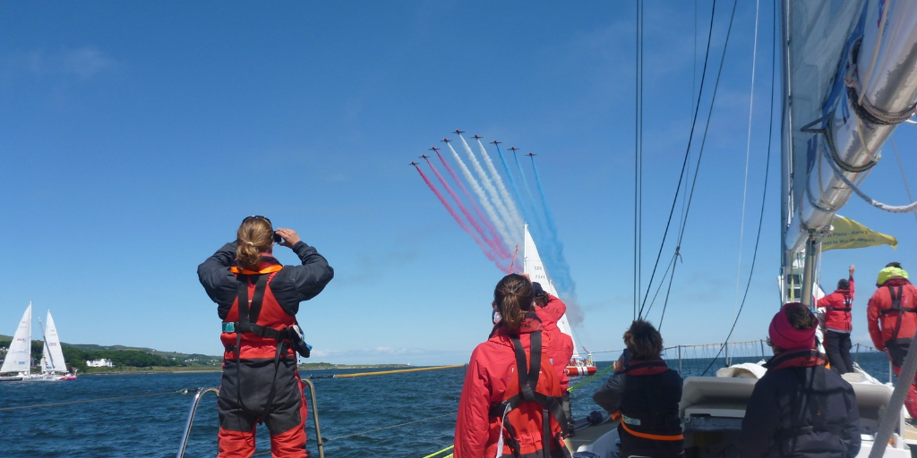 Red Arrows, Clipper Race